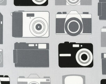 SALE- LAST Yard-Print and Pattern-Boy Toys- Cameras in Pepper