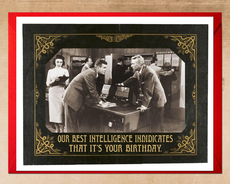 Birthday Card b movie poster Birthday Cards 1930s Scifi – Alternative Birthday Greetings