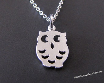 Owl  Necklace Pendant Necklace Charm Necklace Jewelry Gift