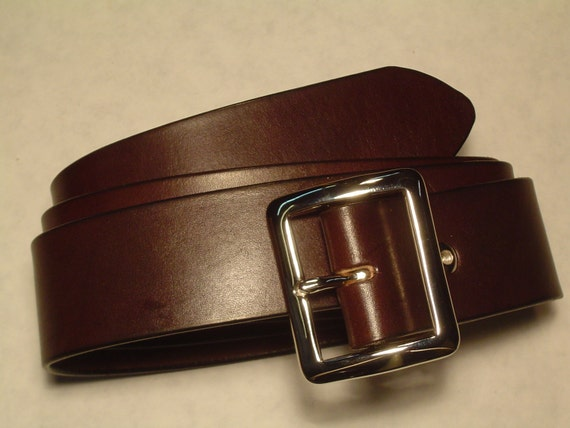 custom made bridle leather belt 1 3 4 plain and