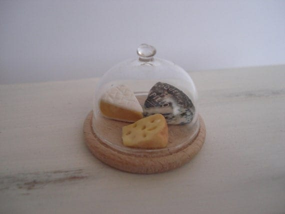 Miniature Cheese Tray With Dome
