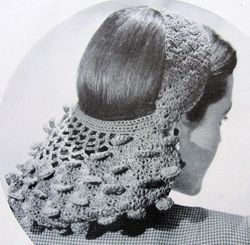 Crochet Hair Net Free Pattern : ... crochet hair net crochet hair net pattern crochet club crocheted