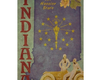INDIANA 1F- Handmade Leather Passport Cover / Travel Wallet - Travel Art