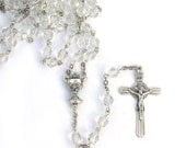 First Communion Catholic Rosary Gift for Girls