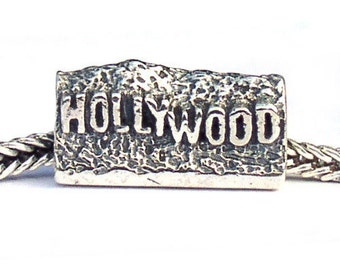 Hollywood Landmark Sterling Silver Bead LM020