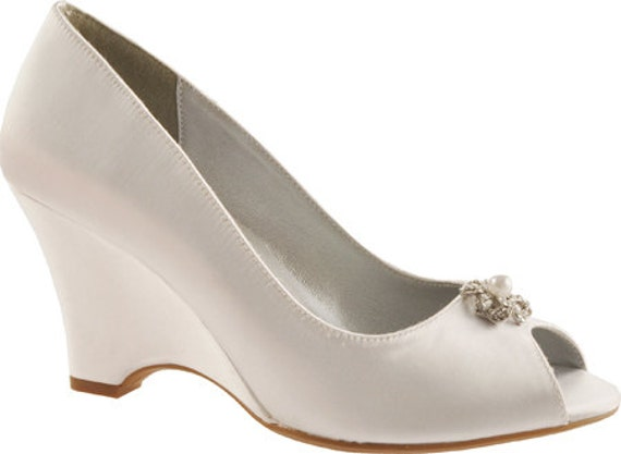 Wedding Shoes Bridal Wedge Shoes PB102.5 Women's