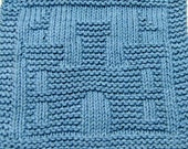Knitting Cloth Pattern - CASTLE - PDF
