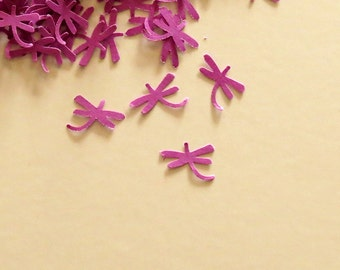 Dragonfly Confetti Purple Party 450 Pieces