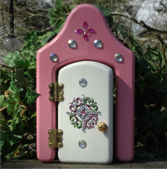 Opening fairy princess door by faekeepers on etsy for Princess fairy door