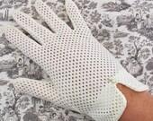 Vintage Wedding Gloves ... Versatile Ivory Afternoon Or Evening Gloves