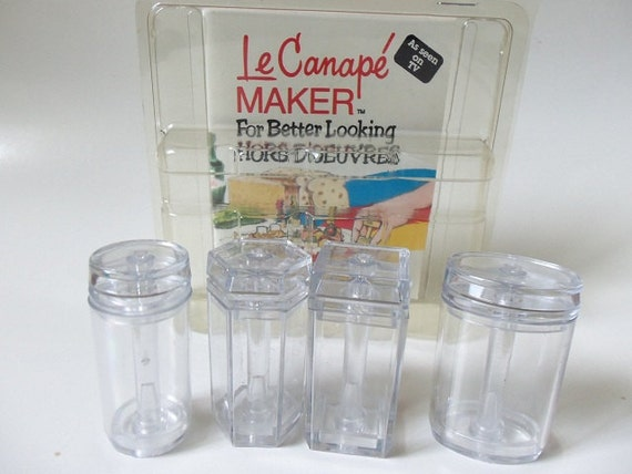 le canape hors d 39 oeuvres maker vintage