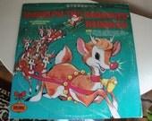 Vinyl Album - Rudolph the Red Nose Reindeer