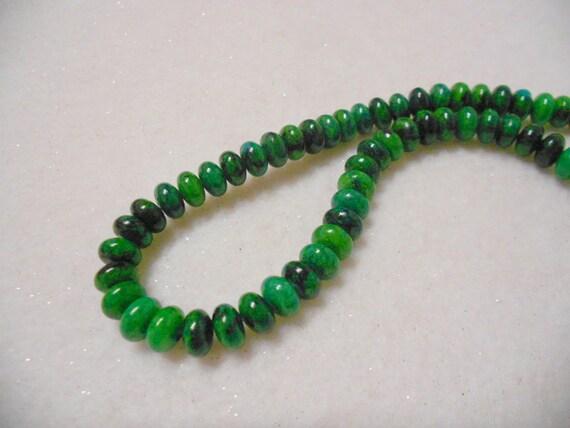 Azurite Chrysocolla Gemstone Beads