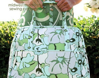 Weekender Travel Bag Pattern by Amy Butler