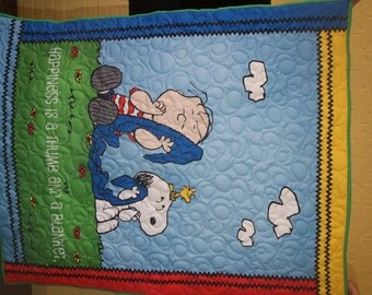 Snoopy and Friends Quilt