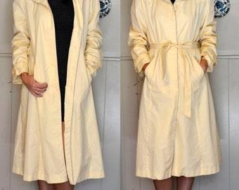 Vintage Yellow Dancing in the Rain Jacket