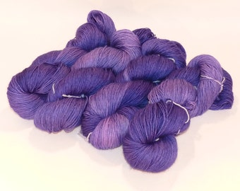 Superwash Bluefaced Leicester BFL Sock Yarn - Shrinking Violet