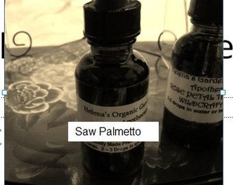 Saw Palmetto Fruit Tincture- folk