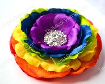 Rainbow Bow, Rainbow Headband, Rainbow Dress, Rainbow tutu, Rainbow Baby, Rainbow Party, Rainbow Brite, Rainbow dash, Rainbow birthday, Baby