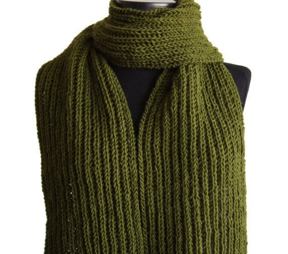 items similar to sale 20 forest green scarf winter