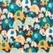 Elephants All Over - Quilting Cotton Fabric - BTY
