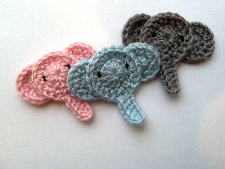 Summary Free Crochet Pattern Lovable Elephant Applique