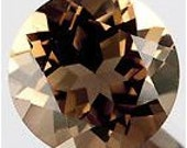 50% OFF LIST PRICE - One - 3mm Round Natural Smoky Quartz Faceted Gemstone