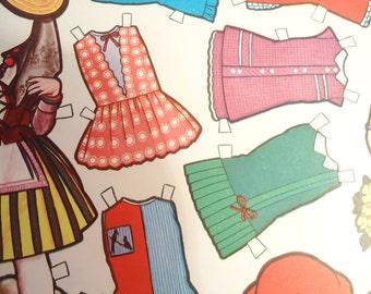 The Spanish Paper Dolls.80s