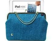 IPad Mini case - Blue Nickel - Duchess Case for Mini iPad