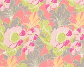 Tina Givens - PAGODA LULLABY - Tutty in Celery - 1 Yard - Cotton Fabric