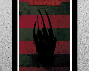 Nightmare on Elm Street - Freddy Krueger - Wes Craven - Robert Englund - Original Art Print