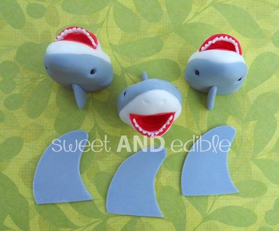 recipe: shark cupcake topper [38]