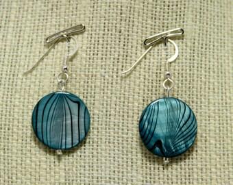 dreamy swirl earrings
