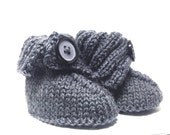 Cosy baby slippers (booties)
