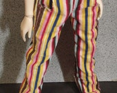 45cm BJD MSD Bright Stripe Corduroys