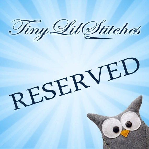 Reserved for Barb