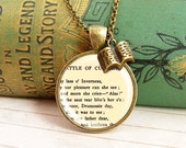 Lament for Culloden - Literature Necklace