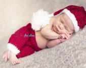 newborn santa hat, baby santa hat, santa photo props, baby santa outfits, newborn santa outfit, christmas hats, christmas photo props