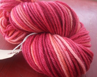 Sorbet Bulky Weight Hand Dyed Wool Yarn