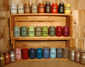 Build Your Own Collection of Mason Jars for Parties Weddings or Home Decor Table Decor