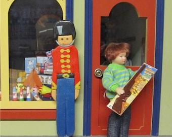 Dolls house / miniature shop toy rifle