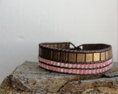 The Mariner Bracelet in Pink and Bronze