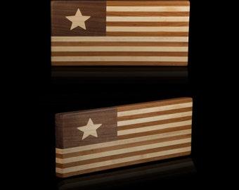 Handmade Flag Large Cutting Board