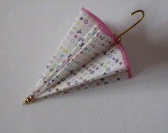 Louis Vuitton Style Umbrella, miniature
