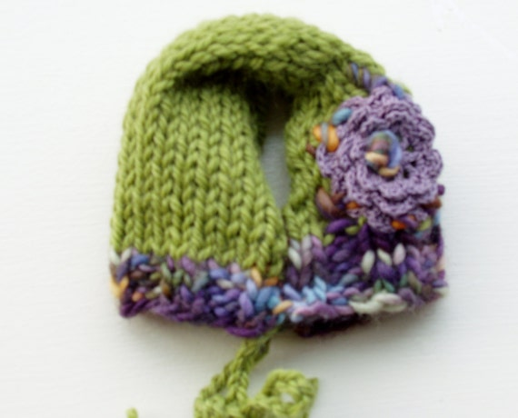 Knitting Pattern For Small Dog Hat : Dog Hat Hand Knit and Embroidered Small Merino Wool by jenya2