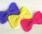 Crochet Pattern Bow Tie for Headband, Dog/ Cat Collar, Embellishment - p106