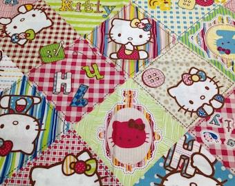 Hello kitty cotton fabric One yard  new item