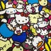 HY Sanrio character fabric