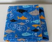 Baby Blanket - Sharks