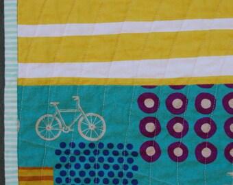 Bike Circles quilt